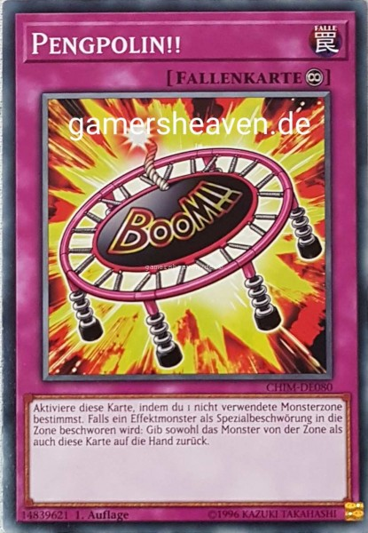 Pengpolin!! CHIM-DE080 ist in Common aus Chaos Impact 1.Auflage