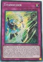 Titanocider ETCO-DE079 ist in Secret Rare Yu-Gi-Oh Karte aus Eternity Code 1.Auflage