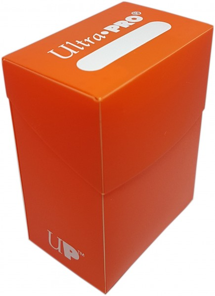 Deck Box Orange Ultra Pro für 80 Karten