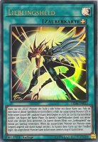 Lieblingsheld LED6-DE015 ist in Ultra Rare aus Legendary Duelists: Magical Hero 1.Auflage