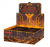 Flesh & Blood TCG - FaB Crucible of War Unlimited Display (24 Packs) - Englisch