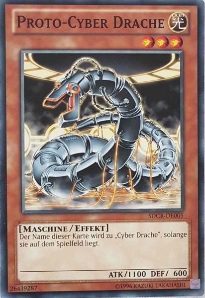 Proto-Cyber Drache SDCR-DE005 ist in Common Yu-Gi-Oh Karte aus Cyber Dragon Revolution