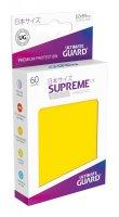 Ultimate Guard Supreme UX Kartenhüllen Japanische Größe Gelb (60)