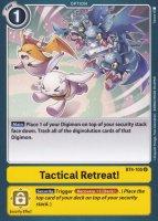 Tactical Retreat! BT4-105 ist in Uncommon. Die Digimon Karte ist aus Great Legend BT04