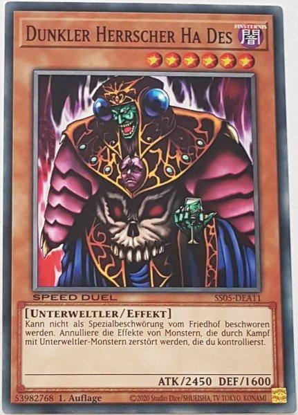 Dunkler Herrscher Ha Des SS05-DEA11 ist in Common Yu-Gi-Oh Karte aus Twisted Nightmares 1.Auflage