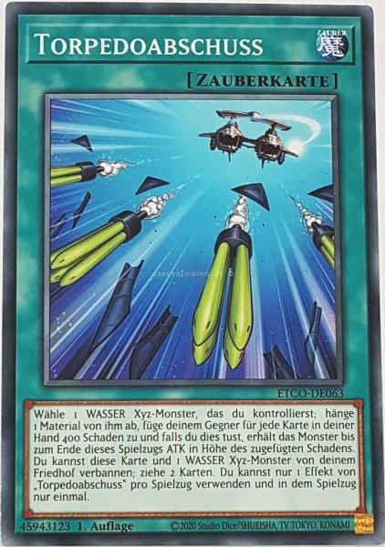 Torpedoabschuss ETCO-DE063 ist in Common Yu-Gi-Oh Karte aus Eternity Code 1.Auflage