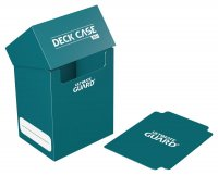 Ultimate Guard Deck Case 80+ Petrolblau mit Kartentrenner