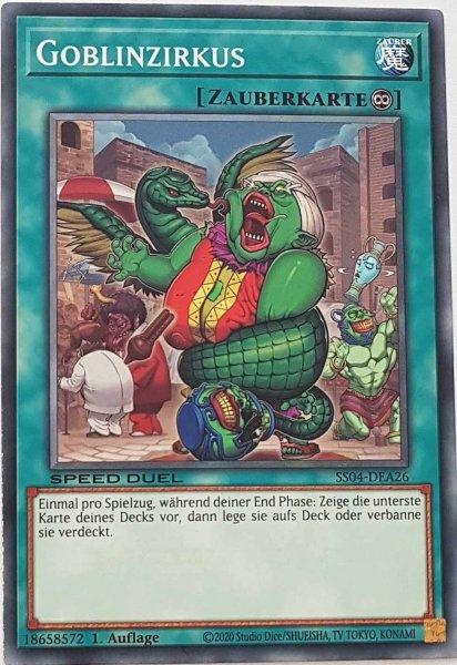 Goblinzirkus SS04-DEA26 ist in Common Yu-Gi-Oh Karte aus Match of the Millennium 1.Auflage