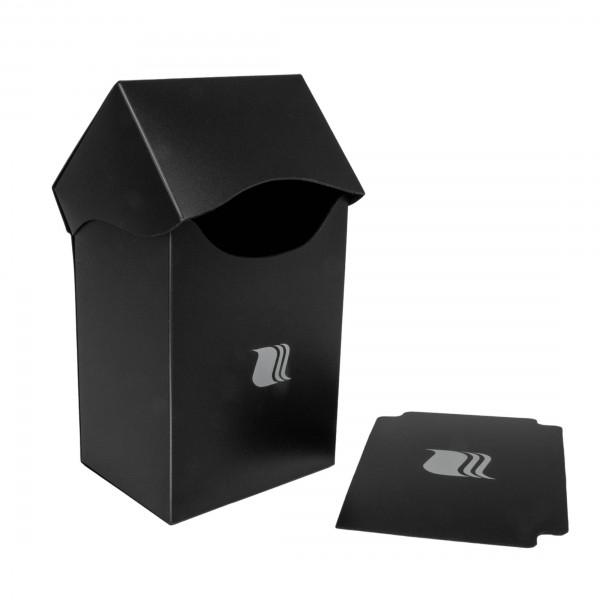 Deck Box Schwarz Blackfire für 80 Karten