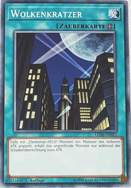 Wolkenkratzer LED6-DE021 ist in Common aus Legendary Duelists: Magical Hero 1.Auflage