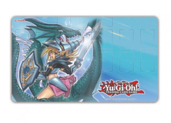 Yugioh Spielmatte Dunkles Magier-Mädchen,die Drachenritterin - Game Mat