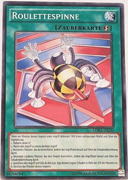 Roulettespinne LDK2-DEJ30 ist in Common Yu-Gi-Oh Karte aus Legendary Decks 2