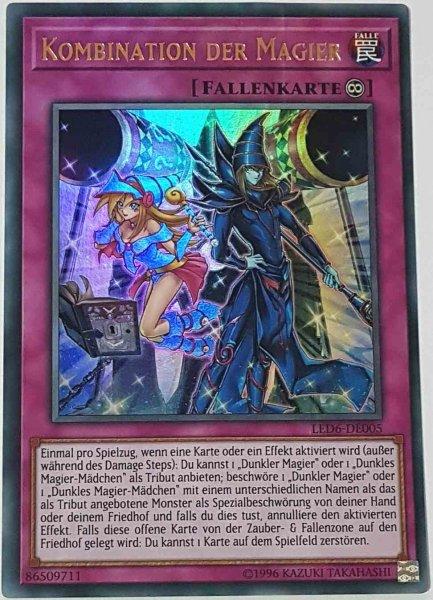 Kombination der Magier LED6-DE005 ist in Ultra Rare aus Legendary Duelists: Magical Hero 1.Auflage