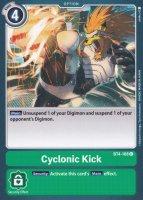 Cyclonic Kick BT4-108 ist in Common. Die Digimon Karte ist aus Great Legend BT04