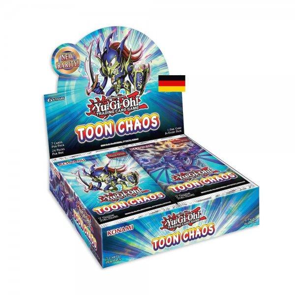 Toon Chaos Display - 24 Booster 1. Auflage Deutsch