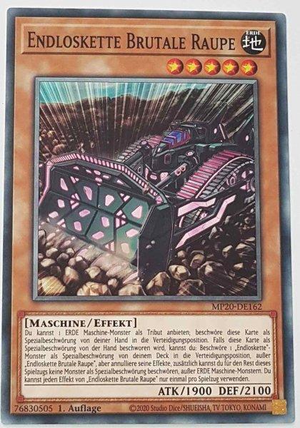 Endloskette Brutale Raupe MP20-DE162 ist in Common Yu-Gi-Oh Karte aus 2020 Tin of Lost Memories 1.Auflage