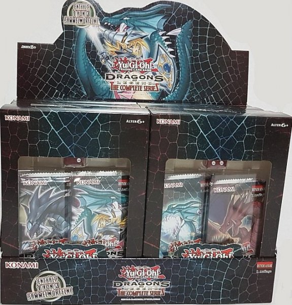 Dragons of Legend: The Complete Series Display mit 8 Packs 1. Auflage