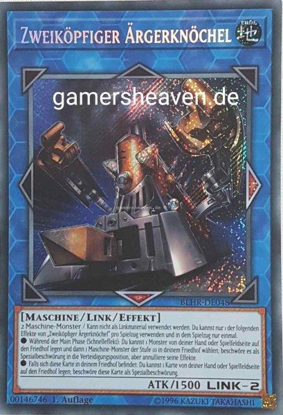 Zweiköpfiger Ärgerknöchel BLHR-DE048 ist in Secret Rare aus Battles of Legend: Hero's Revenge 1.Auflage