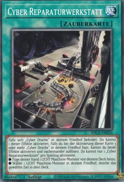Cyber Reparaturwerkstatt SDCS-DE024 ist in Common Yu-Gi-Oh Karte aus Cyber Strike 1.Auflage