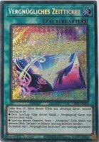 Vergnügliches Zeitticket LIOV-DE056 ist in Secret Rare Yu-Gi-Oh Karte aus Lightning Overdrive 1.Auflage