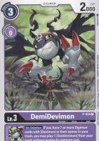 DemiDevimon P-034 ist in Promo. Die Digimon Karte ist aus Great Legend BT04