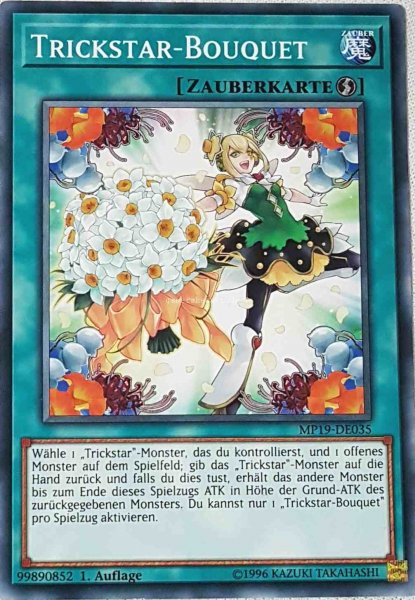Trickstar-Bouquet MP19-DE035 ist in Common aus Gold Sarcophagus Tin 2019 1.Auflage