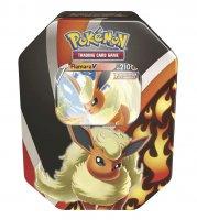 Pokemon Herbst V Tin Box Flamara-V - Deutsch