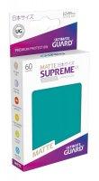 Ultimate Guard Supreme UX Kartenhüllen Japanische Größe Petrolblau Matt (60)