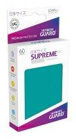 Ultimate Guard Supreme UX Kartenhüllen Japanische Größe Petrolblau (60)