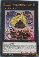Magidolce Puddzessin Schokoeistorte DUOV-DE082 ist in Ultra Rare Yu-Gi-Oh Karte aus Duel Overload 1.Auflage