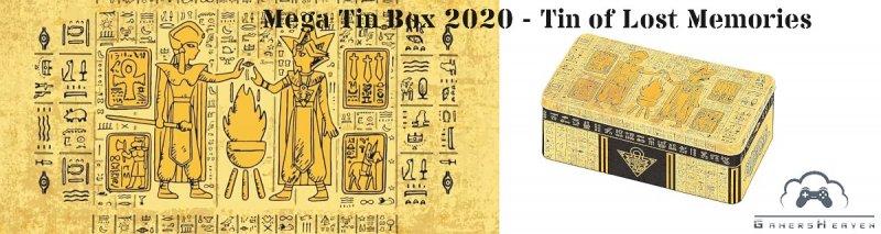 Mega Tin Box 2020 Yugioh - Tin of Lost Memories