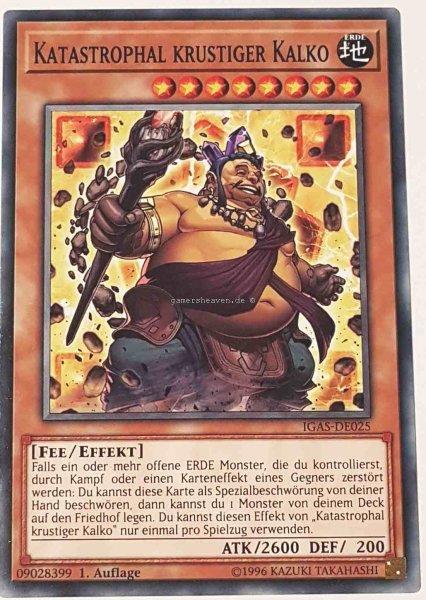 Katastrophal krustiger Kalko IGAS-DE025 ist in Common Yu-Gi-Oh Karte aus Ignition Assault 1.Auflage