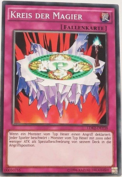 Kreis der Magier LDK2-DEY38 ist in Common Yu-Gi-Oh Karte aus Legendary Decks 2