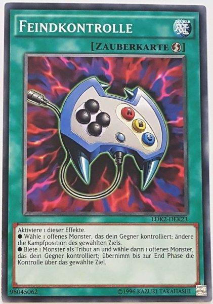 Feindkontrolle LDK2-DEK23 ist in Common Yu-Gi-Oh Karte aus Legendary Decks 2