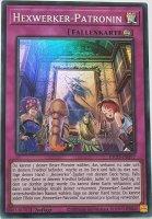 Hexwerker-Patronin ETCO-DE077 ist in Super Rare Yu-Gi-Oh Karte aus Eternity Code 1.Auflage