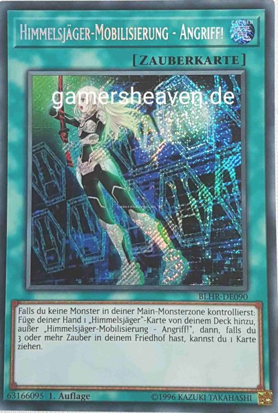 Himmelsjäger-Mobilisierung - Angriff! BLHR-DE090 ist in Secret Rare aus Battles of Legend: Hero's Revenge 1.Auflage