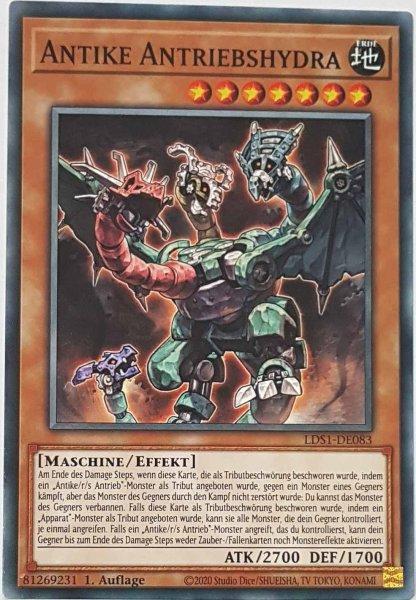 Antike Antriebshydra LDS1-DE083 ist in Common Yu-Gi-Oh Karte aus Legendary Duelists: Season 1 1.Auflage
