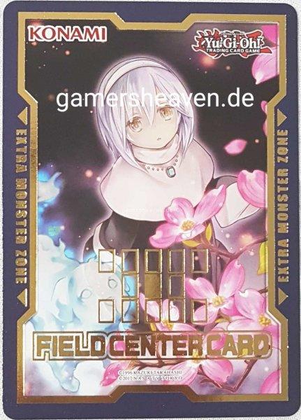Geisterschwester und gruseliger Hartriegel Field Center Card aus Duel Devastator