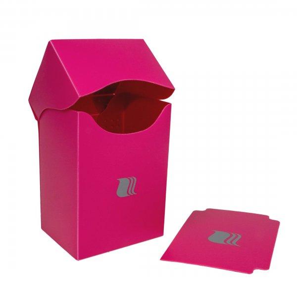 Deck Box in Pink Blackfire für 80 Karten