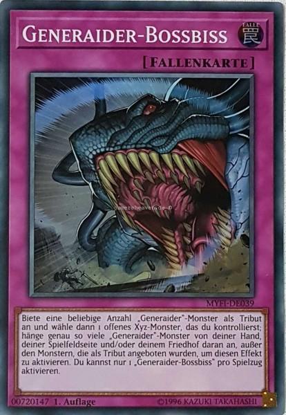 Generaider-Bossbiss MYFI-DE039 ist in Super Rare aus Mystic Fighters 1.Auflage