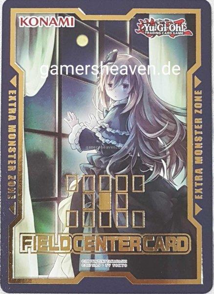 Geistermädchen & Spukhaus Field Center Card aus Duel Devastator