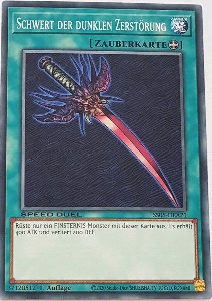 Schwert der dunklen Zerstörung SS05-DEA21 ist in Common Yu-Gi-Oh Karte aus Twisted Nightmares 1.Auflage