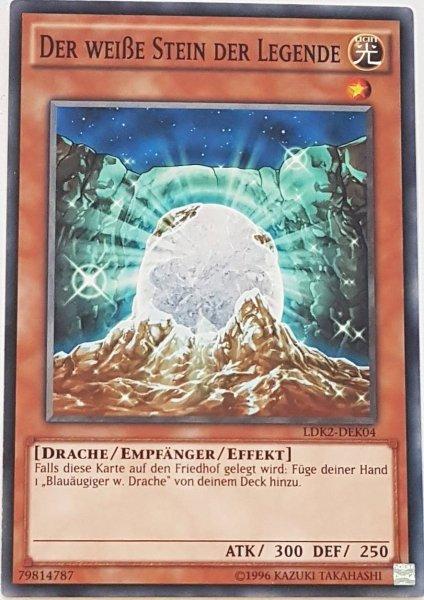 Der weiße Stein der Legende LDK2-DEK04 ist in Common Yu-Gi-Oh Karte aus Legendary Decks 2