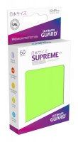Ultimate Guard Supreme UX Kartenhüllen Japanische Größe Hellgrün (60)
